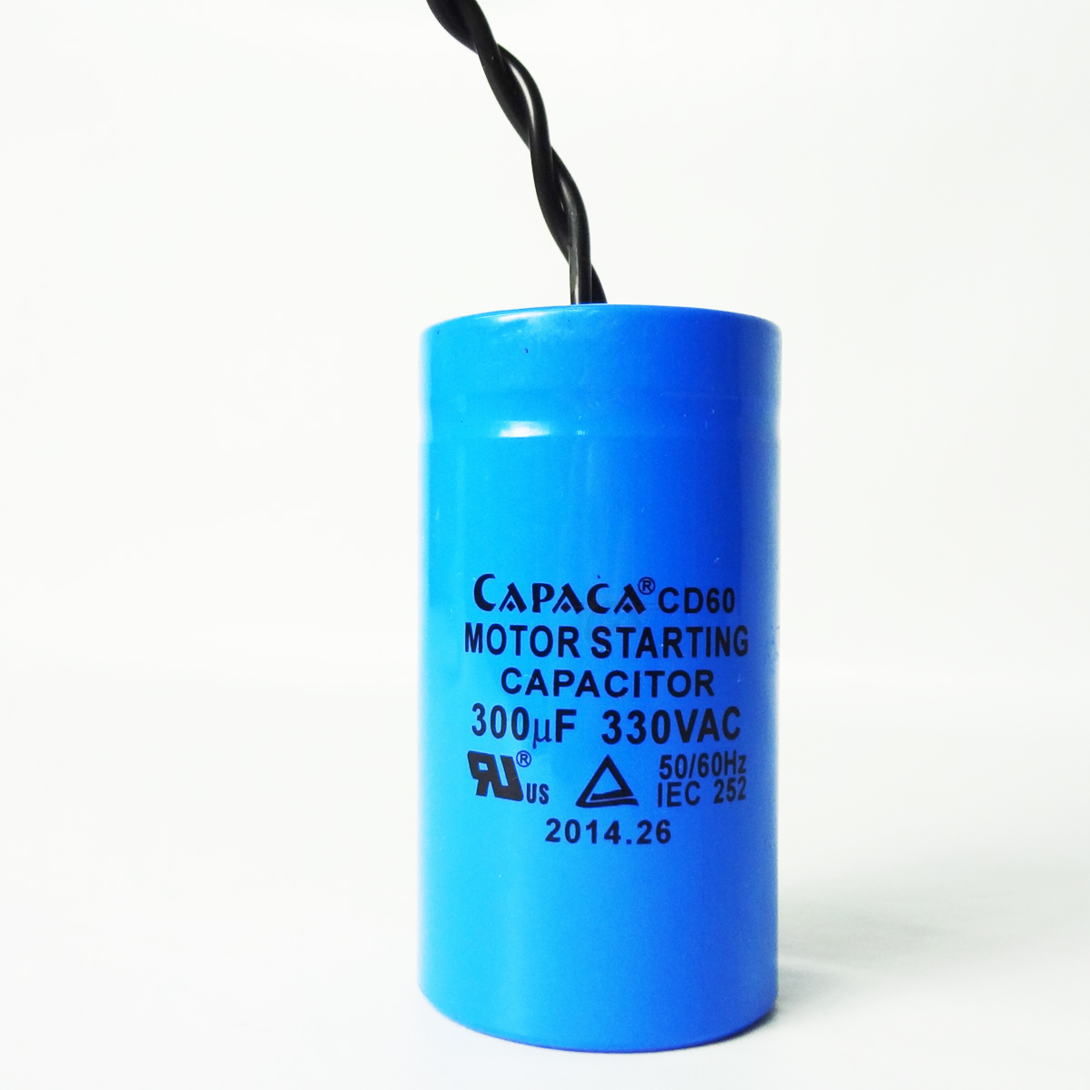Duro auto lift start capacitor for 330vac motor power unit for Capaca motor running capacitor