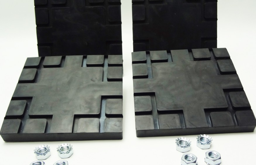 Challenger Lift Square Rubber Arm Pad Set A1104 Bh 7232 01