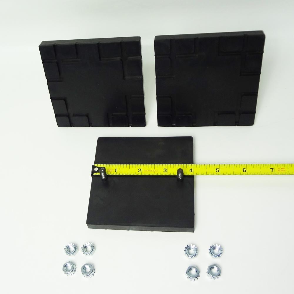 Challenger Lift Square Rubber Arm Pad Set #A1104 BH-7232-01