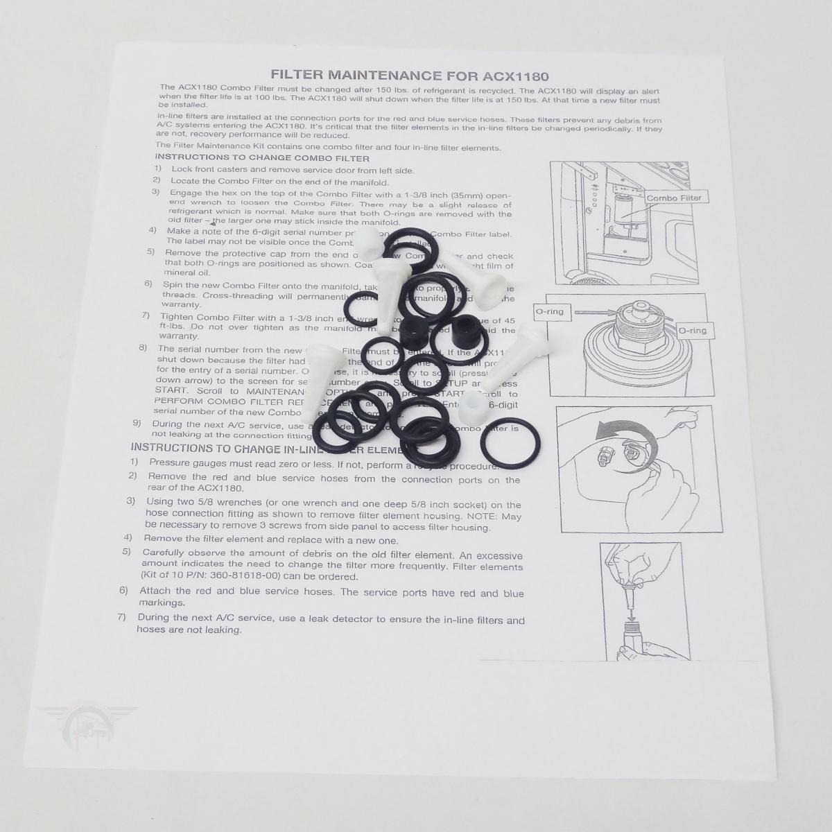 Rti Arctic Pro Filter Kit Rhs980 360 82133 00 Car Lift Parts