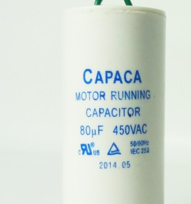 Low rise mid rise lift power unit capacitor for Capaca motor running capacitor