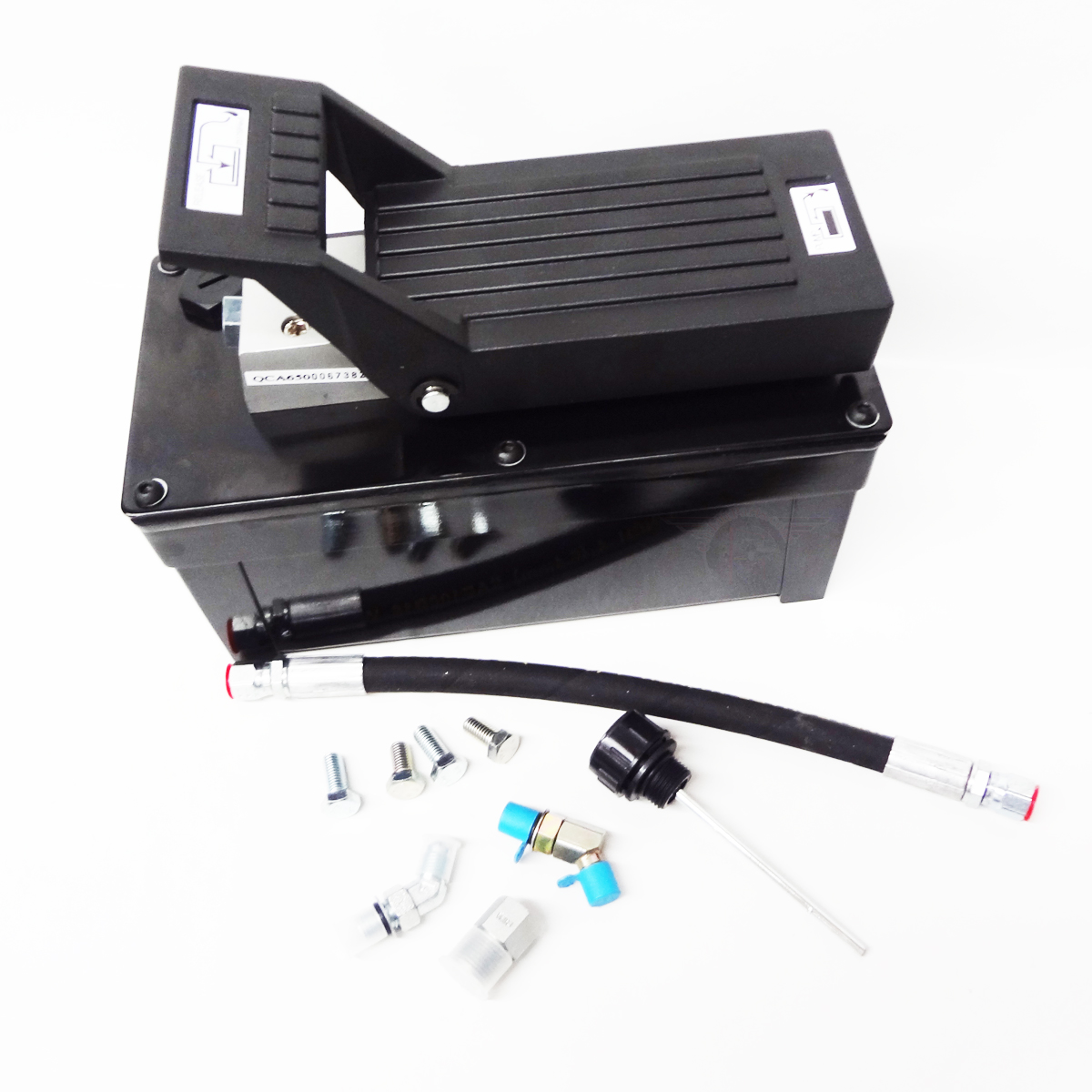 Air Lift Parts : Rotary lift rolling jack pump air over hydraulic