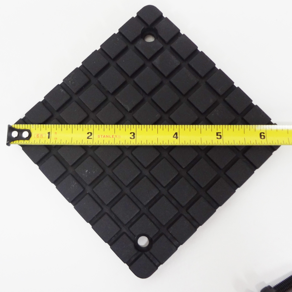 SQUARE RUBBER ARM PADS for BENDPAK TWO POST