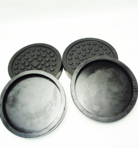 SET-OF-4-FITS-2-POST-LIFTS-SLIP-ON-STYLE-ROUND-RUBBER-ARM-PADS-FOR-ALM-LIFT