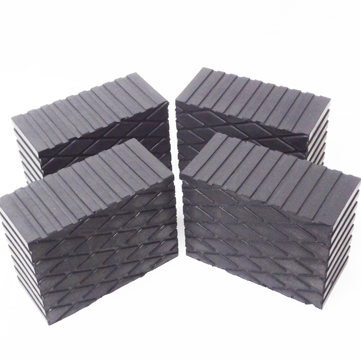 3 Quot Tall Rubber Stack Blocks For Any Auto Lift Or Jack