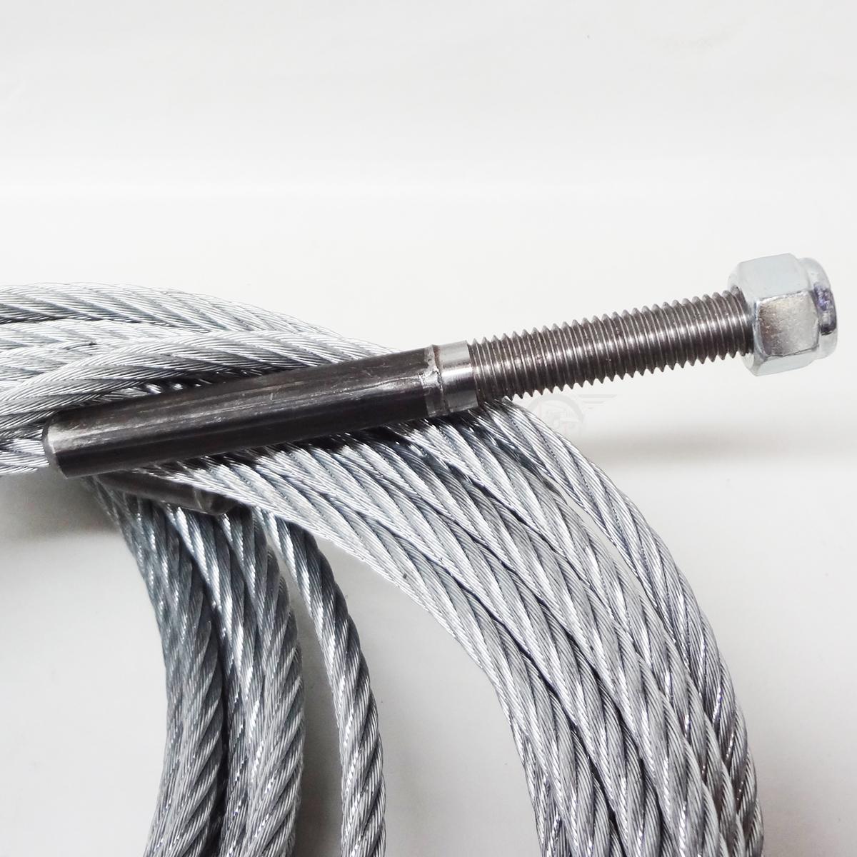 bend pak magnum lift mx 10acx cables 2 post lift set of 2. Black Bedroom Furniture Sets. Home Design Ideas