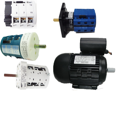Electrical Motor & Switch